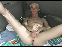 Twink Andrew Blaze Jacks Off and Blows His Load