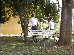 Gay Boyfriends Outdoor Sex