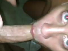 Blond gay gets blowjob straight guy