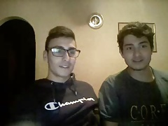 2 Greek Bi Boys Have Fun On Cam, Nice Long Cock