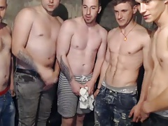 5 Romanian Boys Fuck Each Other Ass Outdoor 1st Time On Cam