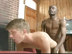 Twink Got Fucked By A Big Black Cock.