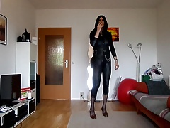 sandralein33 smoking and dance to BBC