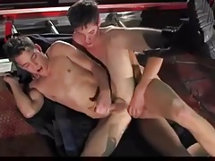 Young Firemen Threesome