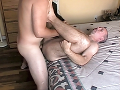 Young Stud Fucks Daddy's Ass