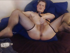 SHINY JAMES - MASTER'S CUTE AND KINKY SISSY CAM SLAVE