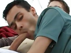 Twinks Threesome Fuck in a Tent