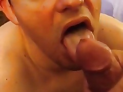 Painting his fucking face with cum 29