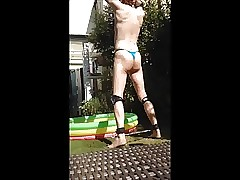 WET MESSY PISS HUMILIATION BUTT FOOTBALL 1