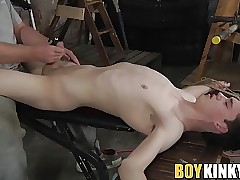 Sebastian Kane toying and jerking off Eli Manuel big cock