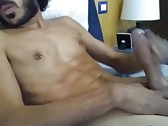 Italian Handsome Boy Cums On Cam