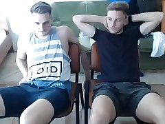 Str8 Soccer & His Friend Doing Gay Stuff For Money On Cam