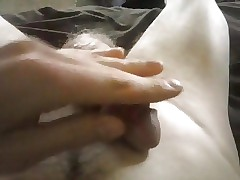 Playing with my dick (soft to hard)