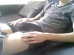 19yo jerking and cumming