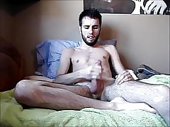 Younger Me - Jerking Off and Cumming On My Bed