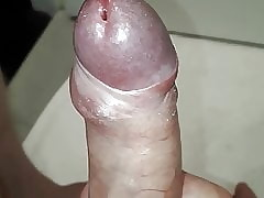 Unveiling cock head tight foreskin