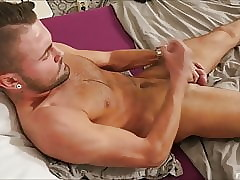 Young Gay Solo Masturbation Uncut Cock
