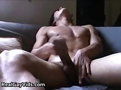 Adrian jerking off his nice firm gay gay porn