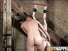 Master fucks young twink sub Lincoln Gates and Aaron Aurora