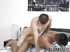 Amateur jock Apollo Wright fucks skinny bottom hard
