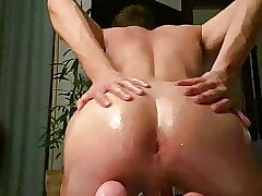 fingering german smooth twink ass hole pussy with oil