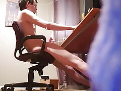 Caught My Friend Jerking Off In My Office Late At Night