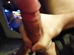Furry Jerks His Massive Cock With Huge Load