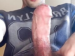Teen boy cums huge load