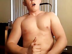 Muscle Stud with Explosive Cumshot