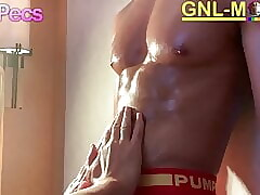 Hot Asian body gets worshipped and nipple played!
