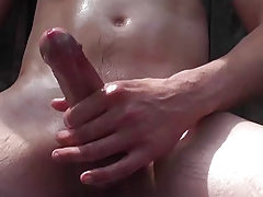 Cock closeup compilation 2 More twitching and cumming!