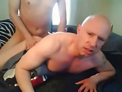 Shaved Sissy Faggot Boy Mike Karacson receving anal bareback