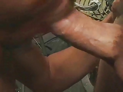 amateur married dude sucking cock like a pro