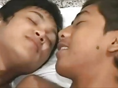 Little Asian Rimmed and Fucked