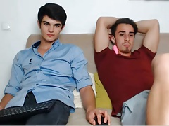2 Romanian Handsome Guys With Nice Cocks Have Fun On Cam
