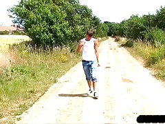 Young Boy William Dildo Fun On Ride