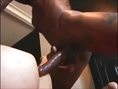 White Slut Gets Fucked Over