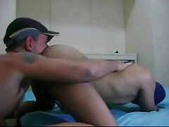 Gay Coworkers Anal Play And Bareback