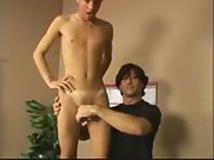 Men fucked blonde teen