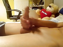 Young Smooth Teen Boy Wanking Nice Cock
