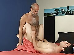 My First Daddy - Hot daddies fucking twinks bareback - Vol 6