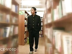 Library Fuck,asian edition